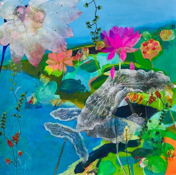 Lotus #4 by Susan Obermeyer