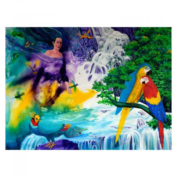 The birds protector Fairy by Edgar Francisko